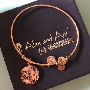 BRONZE 'BECAUSE I LOVE YOU' ALEX AND ANI